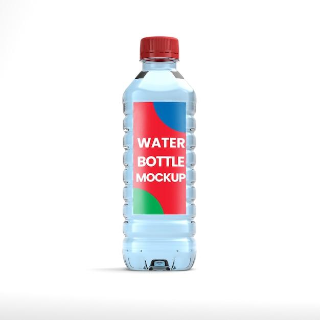 Maquette De Bouteille D'eau Minérale PSD Premium