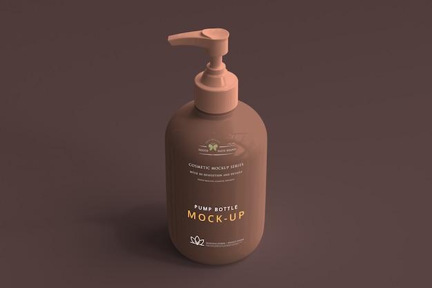 Maquette de bouteille à pompe PSD Premium