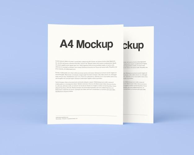 Maquette De Brochure Commerciale Psd gratuit