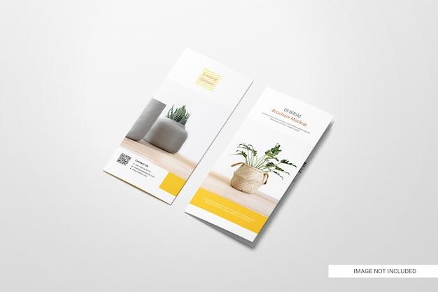 Maquette De Brochure Dépliant à Deux Volets Psd gratuit