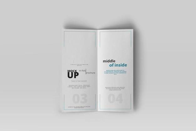 Maquette de brochure dl double-pli PSD Premium