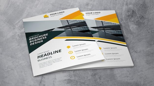 Maquette de brochure d'entreprise Psd gratuit