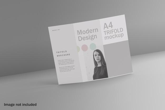 Maquette De Brochure Moderne à Trois Volets PSD Premium