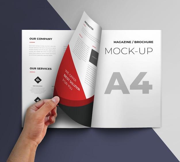 Maquette de la brochure PSD Premium