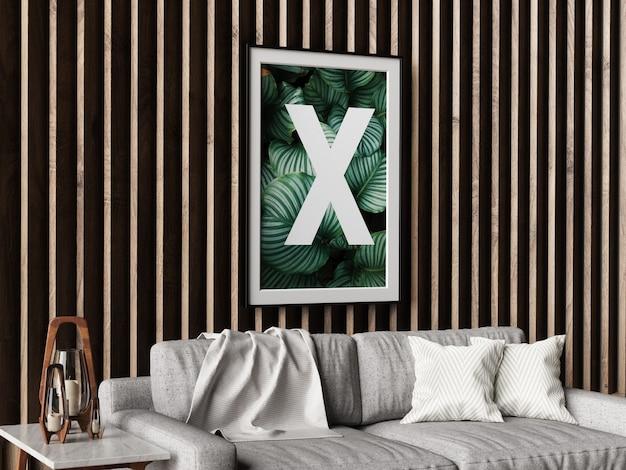 Maquette De Cadre Simple Mur PSD Premium