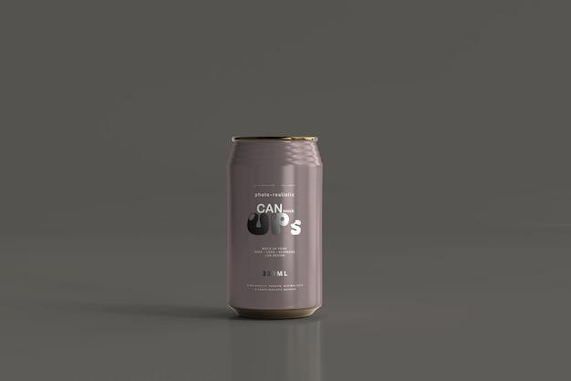 Maquette De Canette De Soda Standard De 330 Ml Psd gratuit