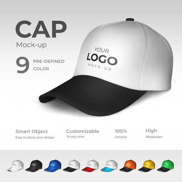 Maquette cap PSD Premium