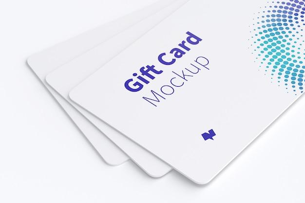 Maquette De Carte-cadeau PSD Premium