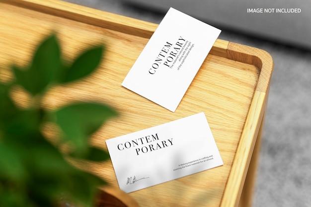 Maquette De Carte De Visite PSD Premium
