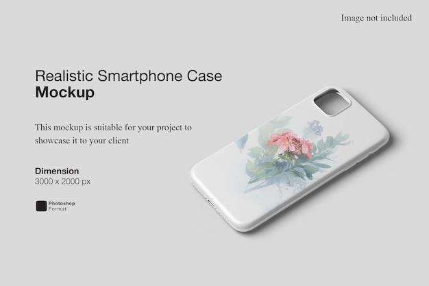 Maquette De Cas De Smartphone Réaliste PSD Premium