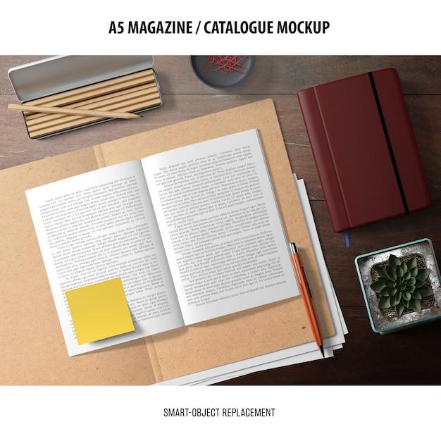 Maquette De Catalogue De Magazine Psd gratuit