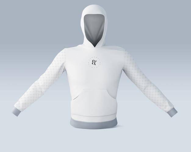 Maquette de chemise de sport avec logo de la marque Psd gratuit