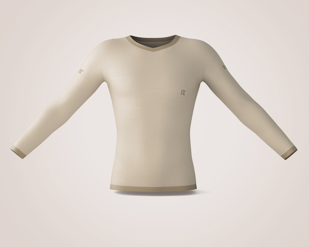 Maquette de chemise Psd gratuit