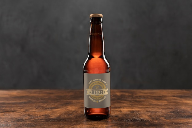 Maquette De Concept De Bière Artisanale Psd gratuit