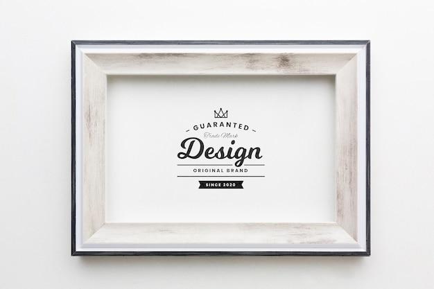 Maquette De Concept De Cadre Décoratif Psd gratuit