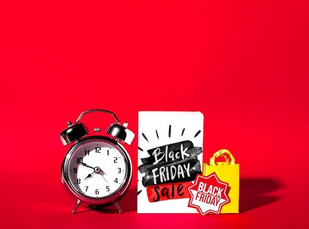 Maquette créative du vendredi noir Psd gratuit