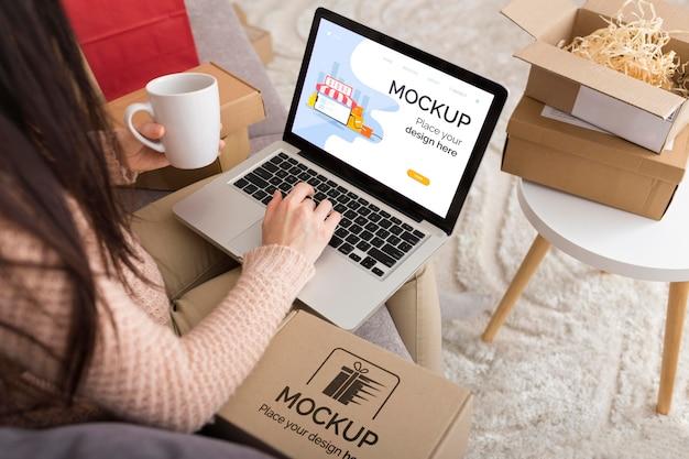 Maquette Du Concept Cyber Monday Psd gratuit