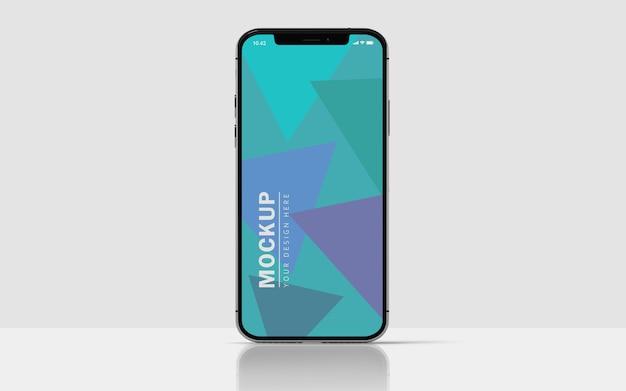 Maquette D'écran De Téléphone Portable Premium PSD Premium