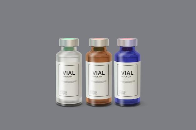 Maquette de flacon de médicament PSD Premium