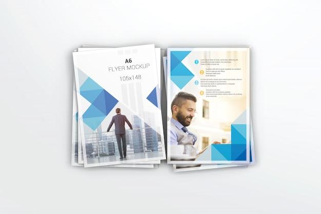 Maquette de flyer créatif PSD Premium