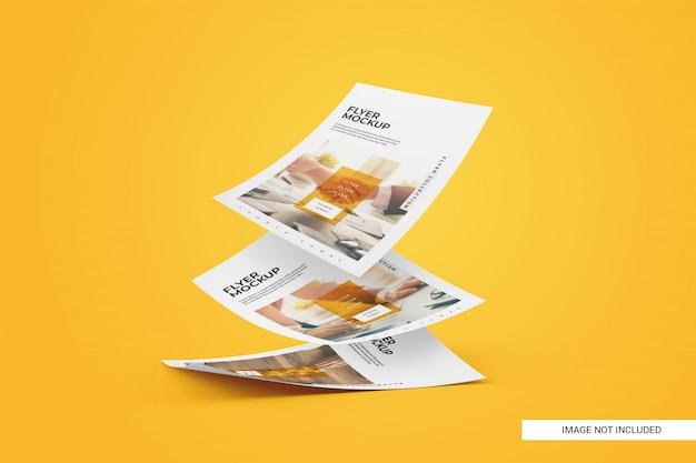 Maquette De Flyer Créative PSD Premium