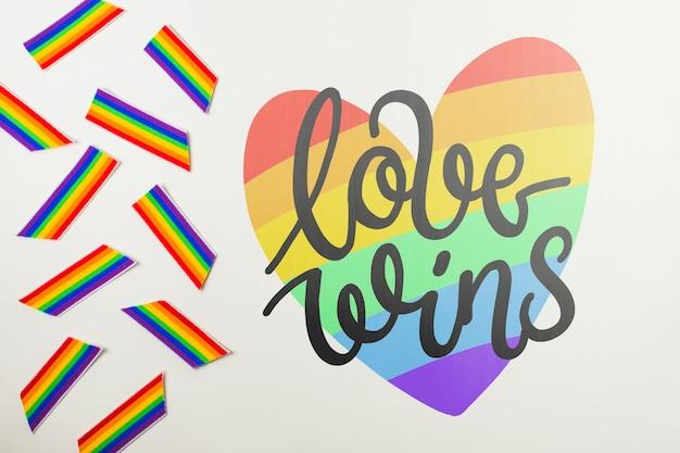 Maquette gay pride Psd gratuit