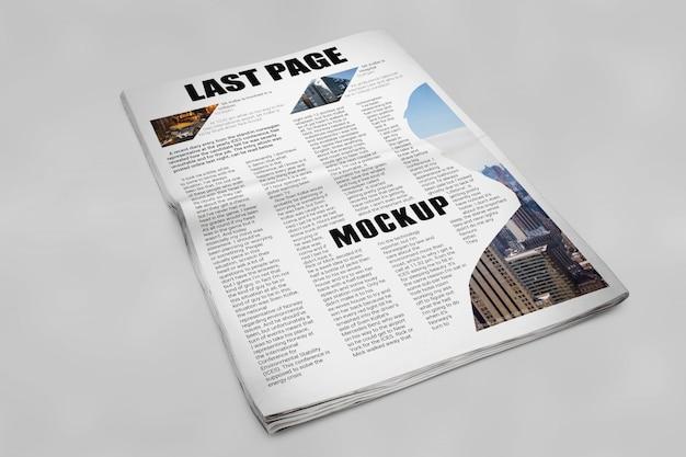 Maquette De Journal Psd gratuit