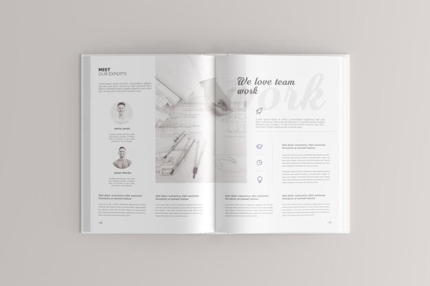 Maquette de livre relié PSD Premium
