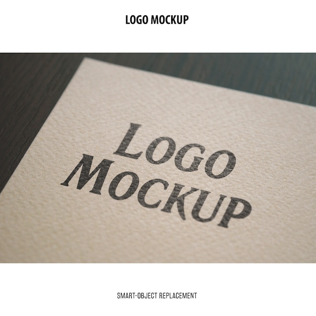 Maquette De Logo Psd gratuit