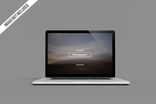 Maquette macbook pro PSD Premium