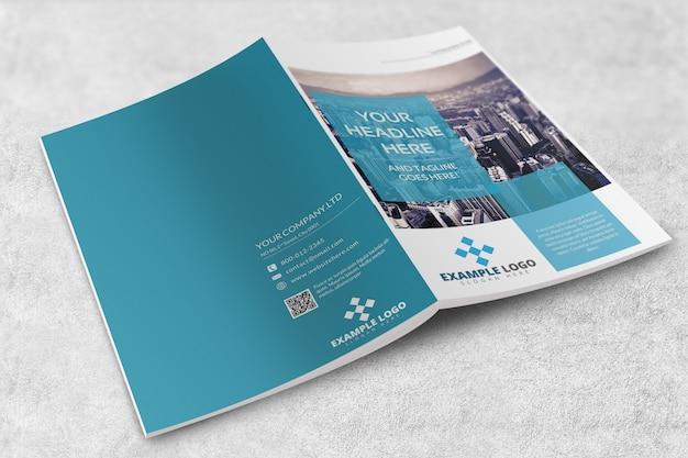 Maquette de magazine ou de brochure PSD Premium