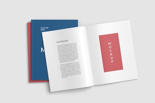 Maquette De Magazine Et Deux Couvertures PSD Premium