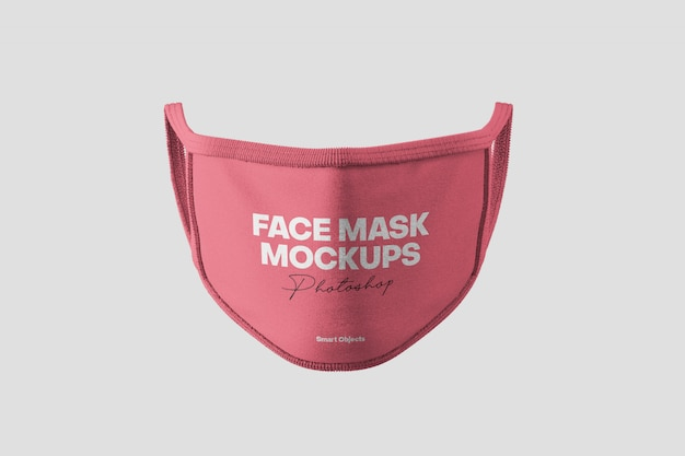 Maquette De Masque Facial PSD Premium