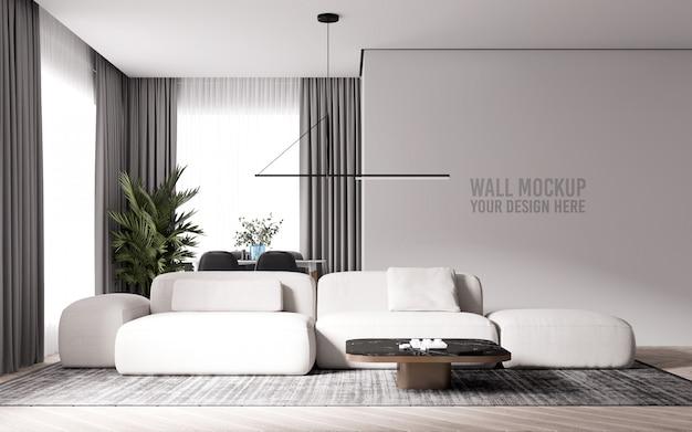 Maquette De Mur De Salon Intérieur PSD Premium