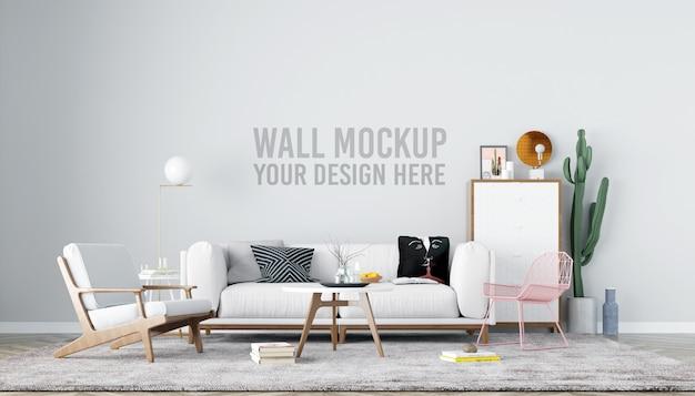 Maquette Murale Du Salon PSD Premium