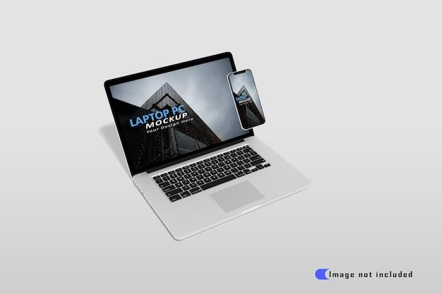 Maquette D'ordinateur Portable Réaliste Premium Psd PSD Premium