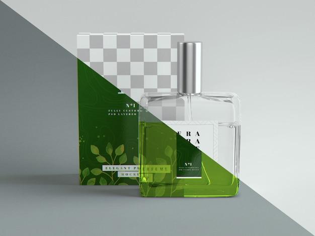 Maquette De Parfum Et D'emballage PSD Premium