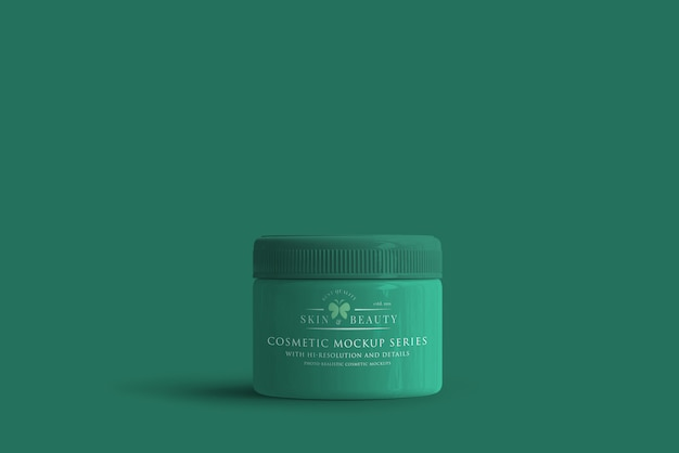 Maquette de pot cosmétique PSD Premium