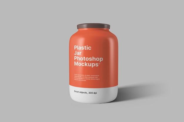 Maquette De Pot En Plastique PSD Premium
