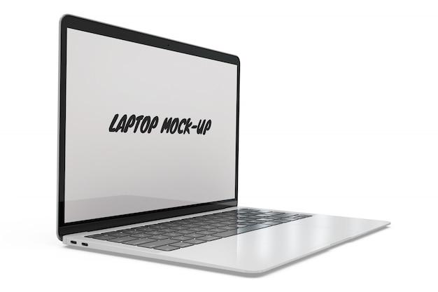 Maquette pour ordinateur portable isolée Psd gratuit