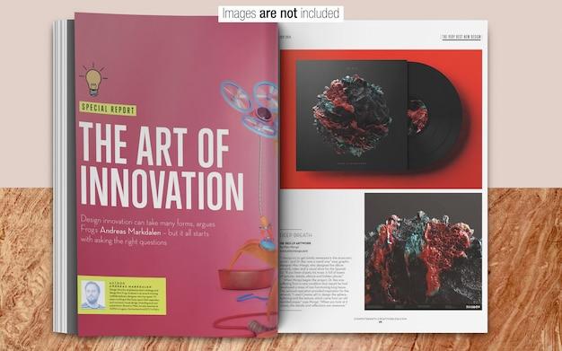 Maquette psd magazine PSD Premium