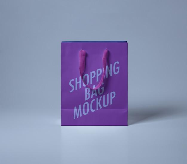 Maquette de sac de magasinage PSD Premium