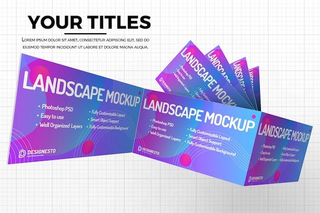 Maquette De Site Web Innovante PSD Premium