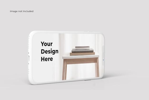 Maquette De Smartphone En Argile PSD Premium