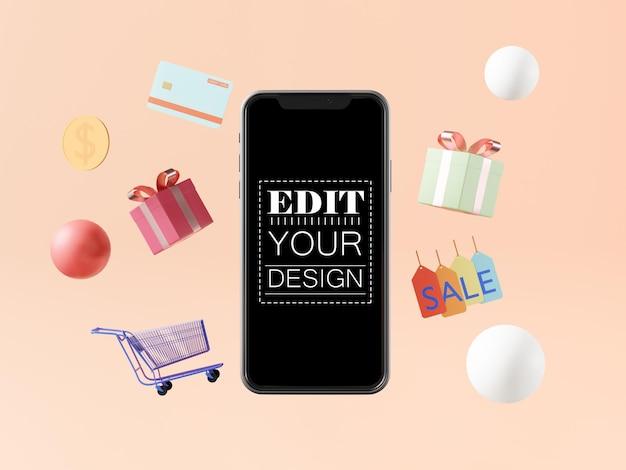 Maquette De Smartphone à écran Vide Psd gratuit