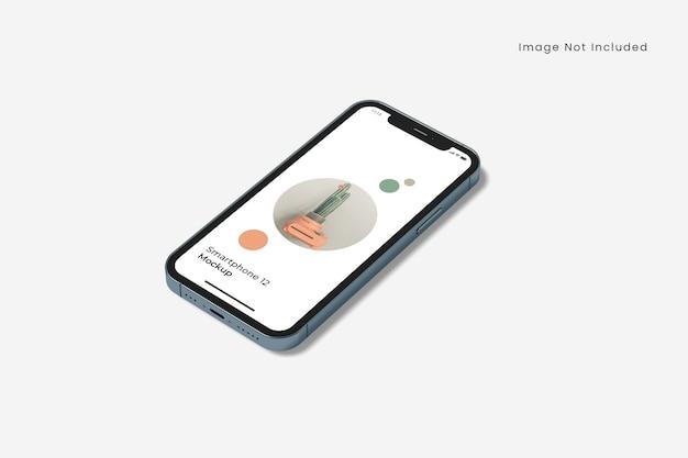 Maquette De Smartphone Réaliste Isolée PSD Premium