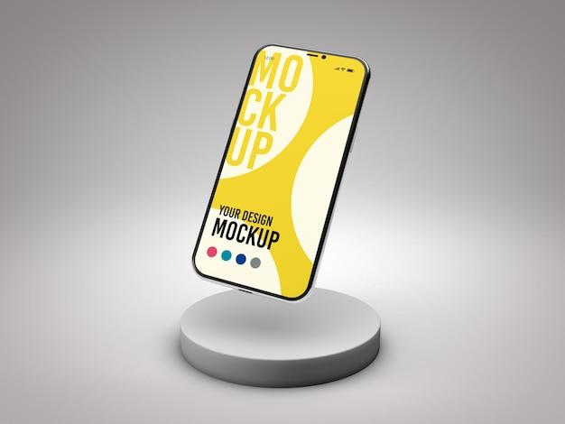 Maquette De Smartphone En Rendu 3d Isolé PSD Premium