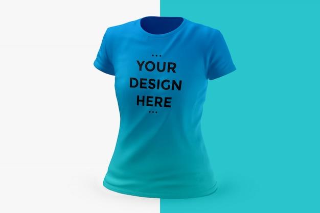 Maquette t-shirt femme PSD Premium