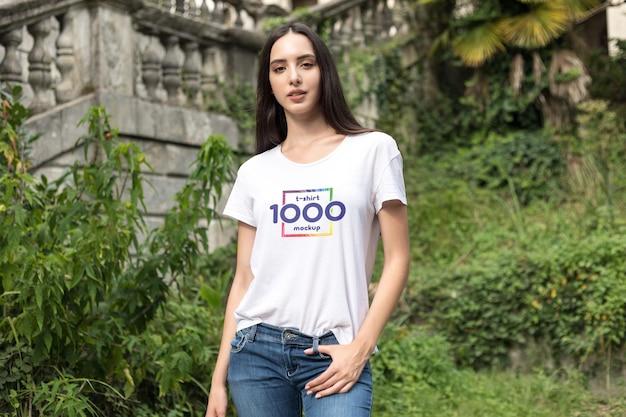 Maquette De T-shirt Psd gratuit