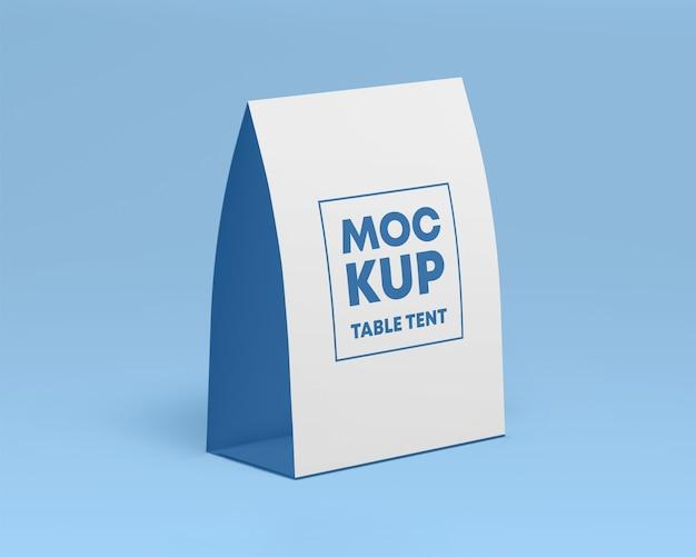 Maquette De Table En Papier PSD Premium